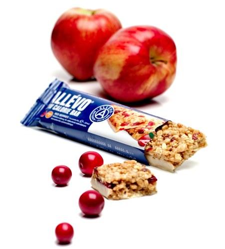 Allévo, Red Berries müslibar med tranbär, äpple och yoghurt
