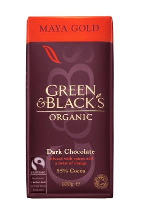 Green & Blacks Maya Gold 55%
