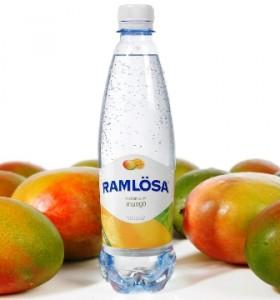 Ramlösa Mango kolsyrat källvatten frisk smak av mango