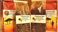 Somrigt te med härliga smaker av sommaren