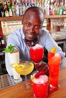 Kenneth Otto, bartender på Hotellet i Stockholm, har tagit fram en rad goda Drambuie-drinkar