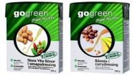 Nu breddar GoGreen sitt bönsortiment med två smaksatta varianter. Bönor är goda, nyttiga och enkla att använda.