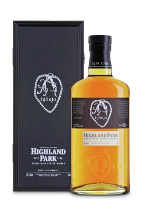 Highland Park Hjärta är en intensiv 12 y.o. cask strength single malt (58,1%)