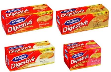 McVitie's – det första digestivet med solrosol