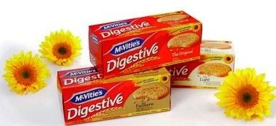 McVitie's första digestivet med solrosolja och smart förpackning