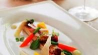 Somrig rätt med smakar av Gotland. Parmesan, tryffel valnötter får allting att smälta i munnen.