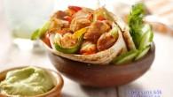 Vegetarisk Fajita som går snabbt och laga med mycket smak