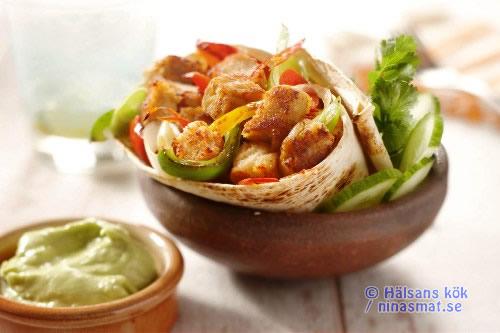 Vegetarisk Fajita
