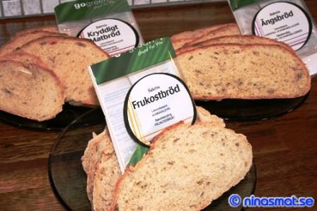 GoGreen Bakmixer Frukostbröd Ängsbröd och Kryddigt Matbröd