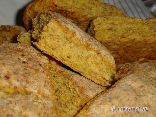 Morotsbröd brytbröd