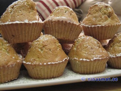 Muffins med morötter o sötmandel