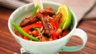 Lättlagad måltid men mycket smaker av Thailand