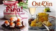 Två nya kokböcker för högtider och ost- & vinälskare  . Fyllda med lättlagade recept och smakrika tips till matlagningen.