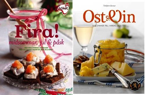 Arlas nya kokböcker Fira midsommar jul & påsk ost & vin