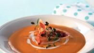 """En läcker """"rostad"""" soppa med en aning söt smak som balanseras fint av sältan i parmachipset."""