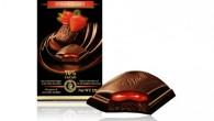 Test av nya strawberry chokladen från Lindt