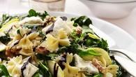 En pastarätt som man kan servera på en buffé eller som en fräsch sommarlunch.