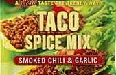 Ny spännande kryddmix från Santa Maria som passar till tacos.