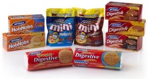 Digestive McVitie's lanserar sju nya smaker för stora och små