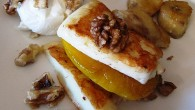 Härligt blandning av sött och salt. En underbar grekisk efterrätt