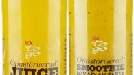 Vår juice och smoothie är både fräsch och smakrik. En av konsekvenserna av att göra färsk juice på riktigt är att hållbarheten blir lite kortare, precis som när man pressar själv.