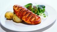 Grillad quorn filé med BBQ marinad