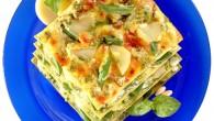 Vi rekommenderar att ni serverar Lasagne med Pesto alla Genovese, en smakrik lasagne perfekt för årstiden.