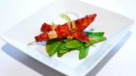 Vegetarisk huvudrätt eller grill med lite stingt och smakrik
