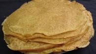 Nyttig pannkaka gjord på dinkel som mättar