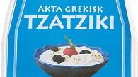 Krämig yoghurt med krispig gurka – rikligt kryddad med vitlök