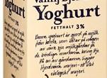 Ekologisk yoghurt från Skånemejerier med björnbär och vanilj