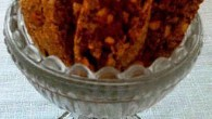 Biscotti med smak av lakrits, citron och mandel.