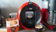 Idag blev det en kopp från kaffemaskinen Nescafé Dolce Gusto. Caffè Lungo.