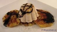 Ananas ger både lite syrlighet och sötma, glassen är len och lakritsen ger en god sälta, en bra kombination