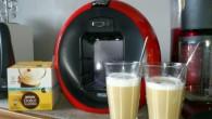 Idag blev det en kopp unsweetened Latte Macchiato från Nescafé Dolce Gusto.