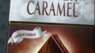 Marabou premium har släppt en limited edition, Winter filled Caramel, mörk choklad med kakaocremfyllning (30%) med kolasmak och mandelkrokant (7%)