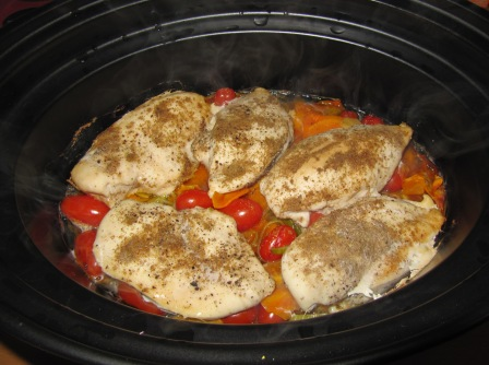 Crock pot recept stek