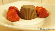 Fryst chokladmousse med jordgubbar. Efter ungefär 1 timme i frysen så är moussen lätt frysen […]