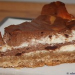 Cheesecake med smak av mintchoklad