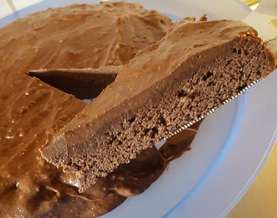 Chokladkaka utan socker, mjöl och mjölk